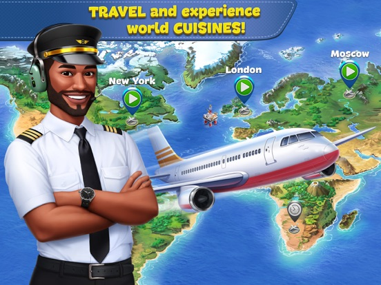 iPad Image of Airplane Chefs - Cooking Game