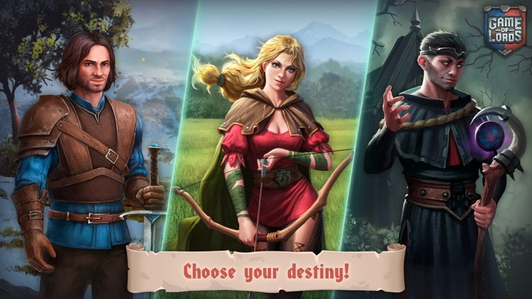 Game of Lords: War and Dragons screenshot-6