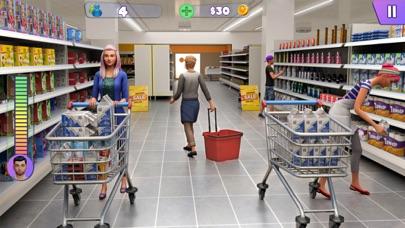 سوبر ماركت التسوق ألعاب 3Dلقطة شاشة1