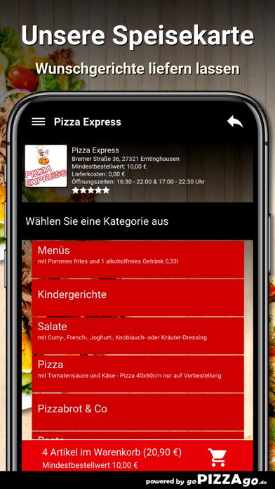 Pizza Express Emtinghausen screenshot 4