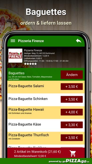 Pizzeria Firenze Dortmund screenshot 4
