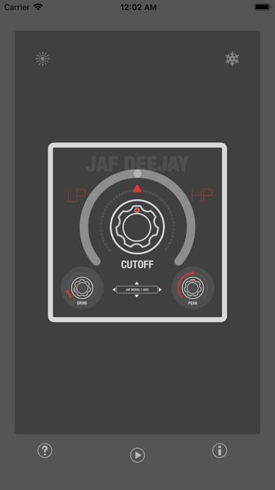 JAF DeeJey - Full Range Filter screenshot 4