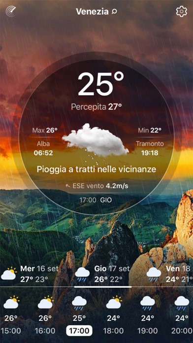 Meteo Live° iPhone