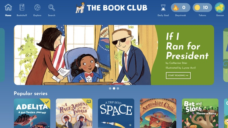 The Book Club–Kids' Story Time