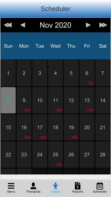 Massage Scheduling Software screenshot-4