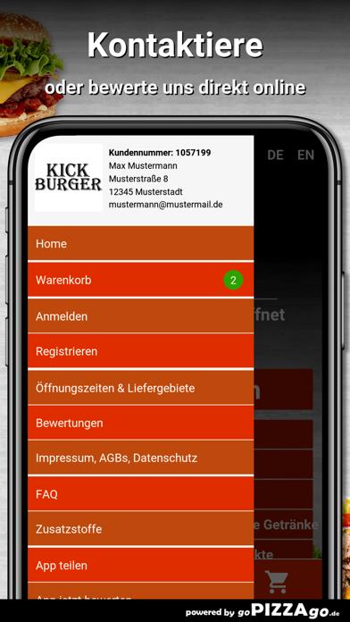 Kick Burger Berlin screenshot 3