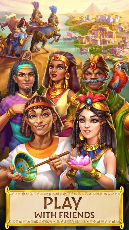 Jewels of Egypt: Match 3 Games screenshot-6