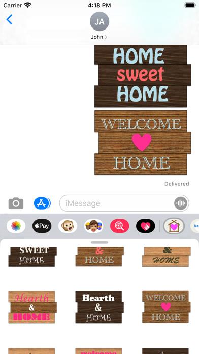 Home Stickers! screenshot 4