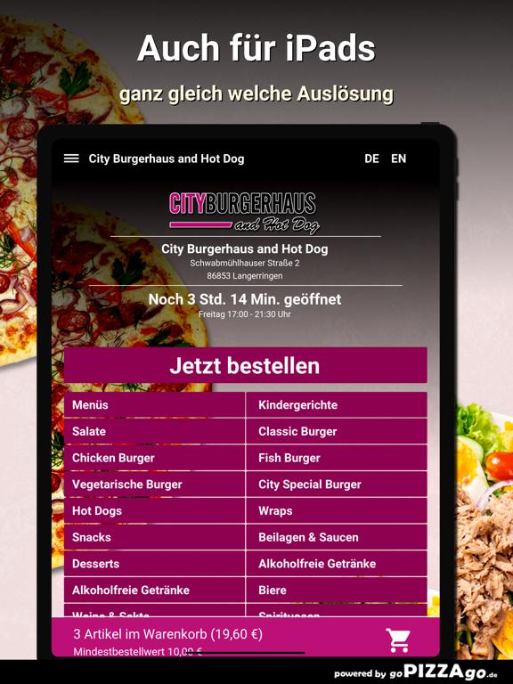 City Burgerhaus and Hot Dog screenshot 7