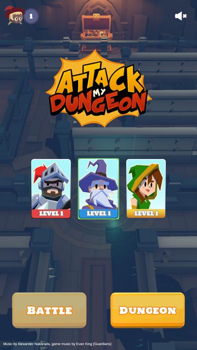 Attack My Dungeon screenshot 1