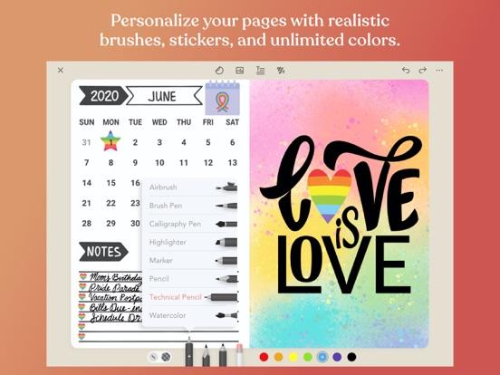Zinnia Journal & Planner screenshot 2
