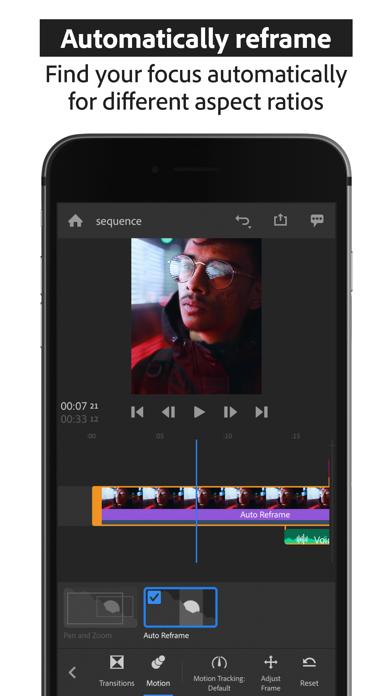 Adobe Premiere Rush for Video Screenshot