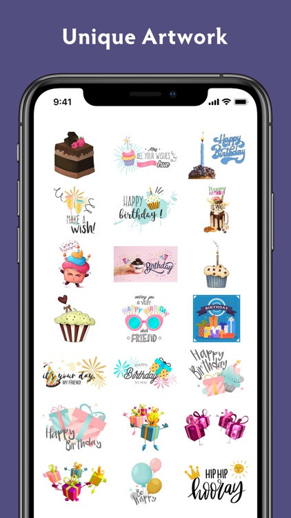 Birthday Stickers #1 screenshot-5