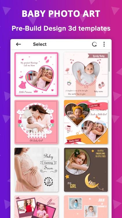 Baby Photo Editor - Baby Story screenshot-4
