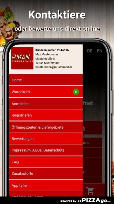 Aman Pizzaservice Illerrieden screenshot 3