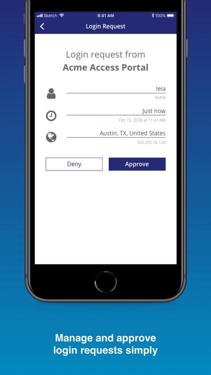 SafeNet MobilePASS+ screenshot-3