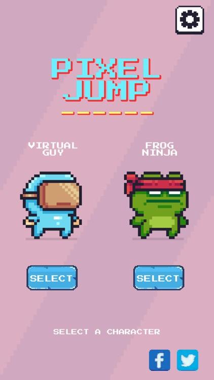Pixel Jump : Endless Runner screenshot-6