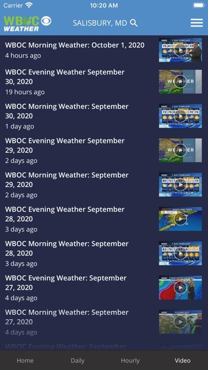 WBOC Weather