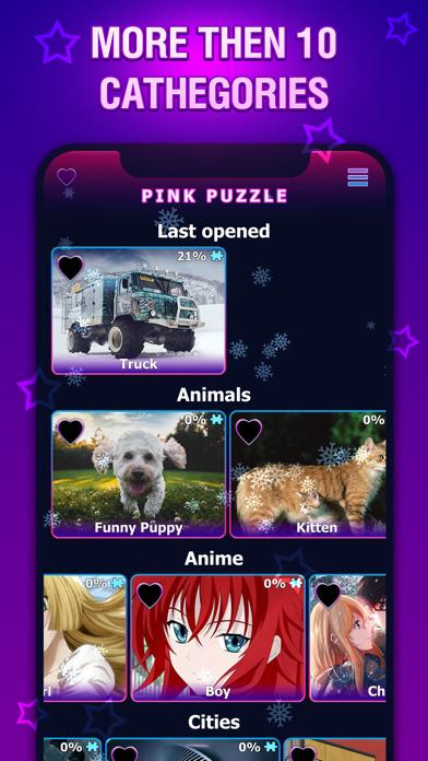 Pink Jigsaw Puzzles - 生きているパズル紹介画像1