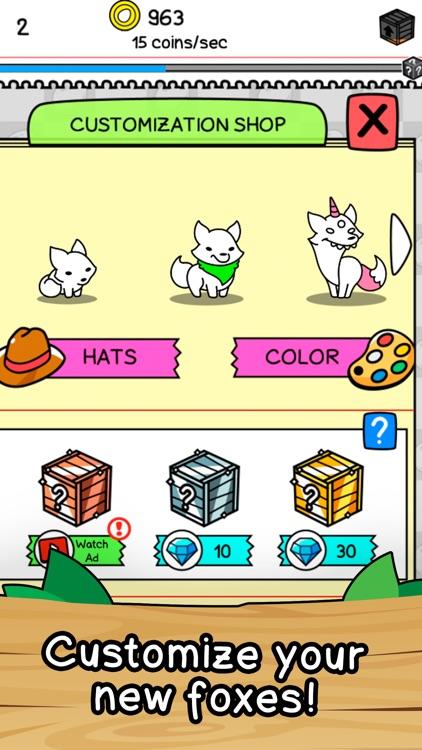 Fox Evolution - Clicker Game screenshot-3