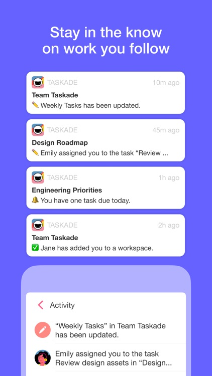 Taskade - Manage anything! screenshot-4