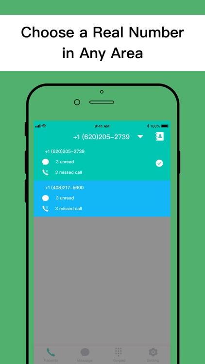 Second Phone Number+ screenshot-4