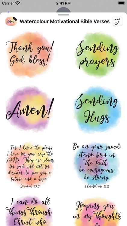 Watercolour Motivational Bible screenshot-4