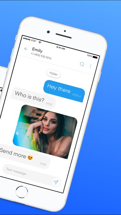 Text Vault - Texting Phone App Screenshot
