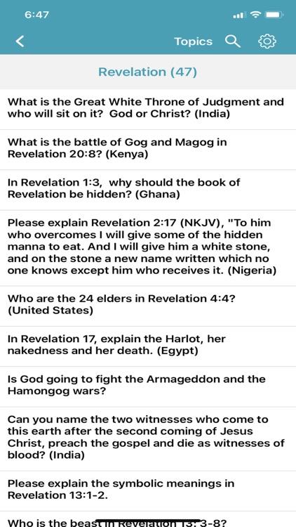 Bible Questions & Answers -FAQ screenshot-5