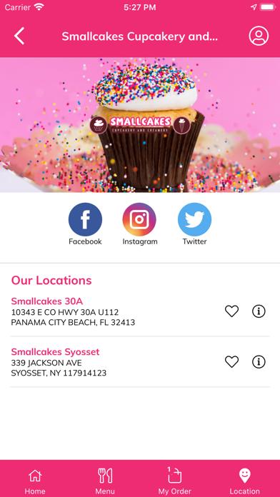 Smallcakes Cupcakery and CreamScreenshot of 7