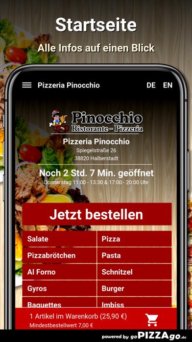 Pizzeria Pinocchio Halberstadt screenshot 2