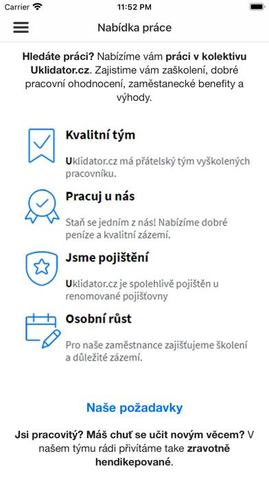Uklidator.cz screenshot 4