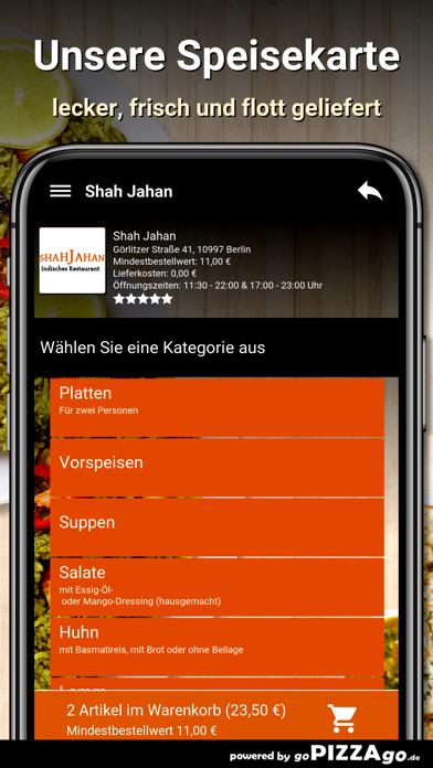 Shah Jahan Berlin screenshot 4
