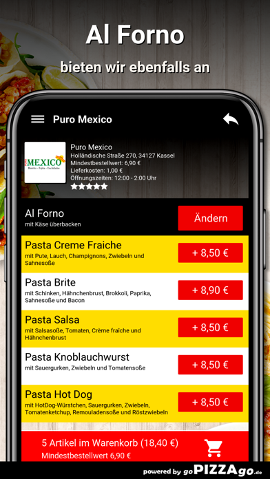 Puro Mexico Kassel screenshot 6