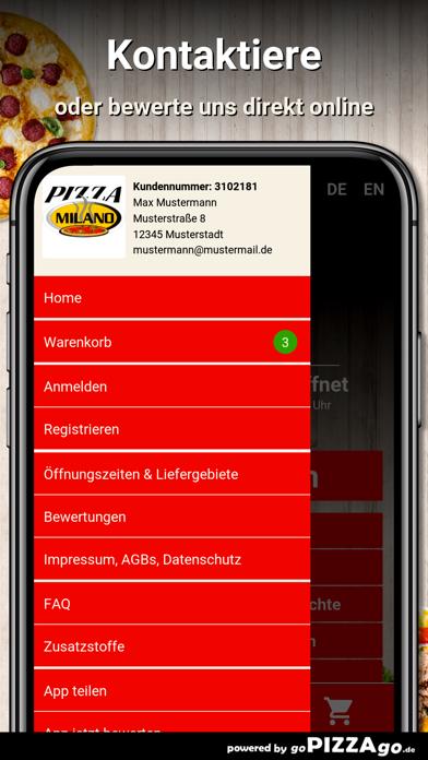 Pizza Milano Münster screenshot 3