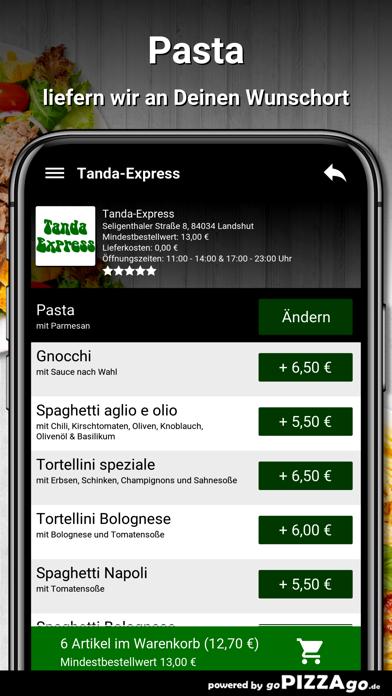 Tanda-Express Landshut screenshot 6