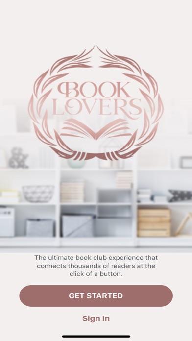 Book Lovers App screenshot 1