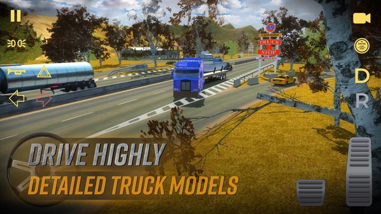 Truck Simulator USA American screenshot-4