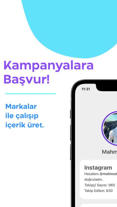 Influera iphone ekran görüntüleri