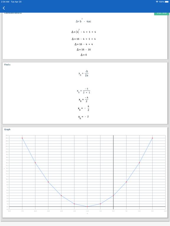 Oh My Homework screenshot