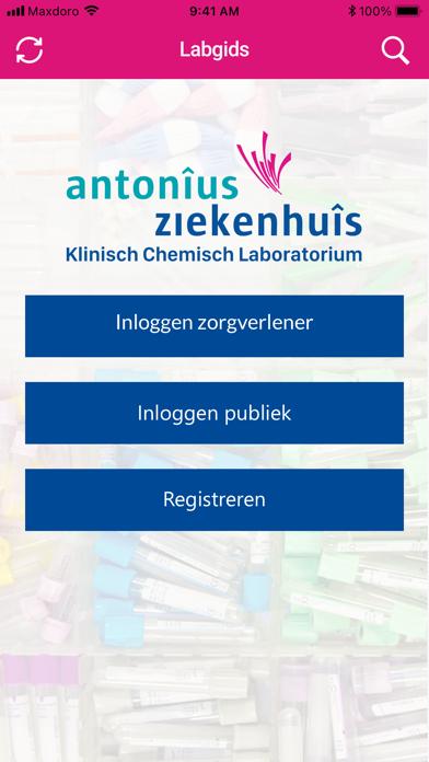 Antonius Lab screenshot 1