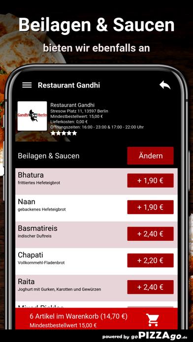 Restaurant Gandhi Berlin screenshot 6
