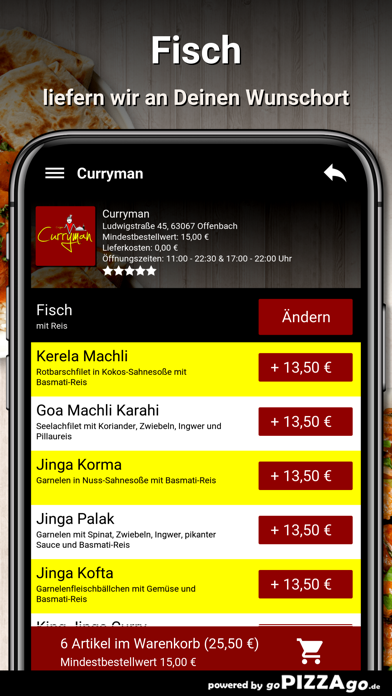 Curryman Offenbach screenshot 6