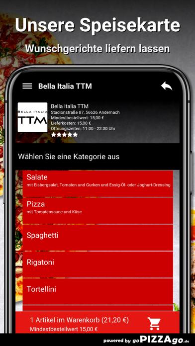 Bella Italia TTM Andernach screenshot 4