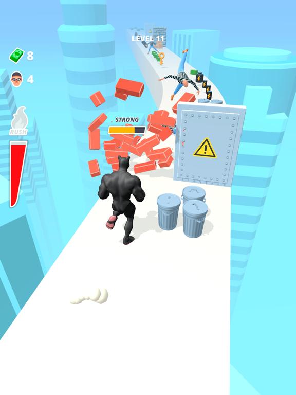 Muscle Rush - Destruction Run screenshot 11