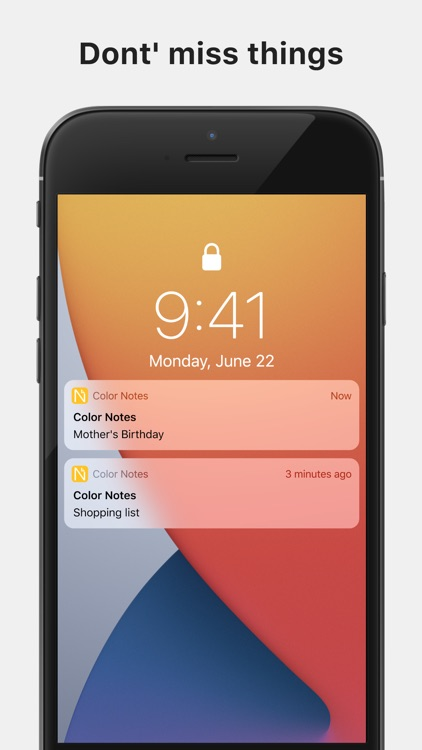 Color Note - Notepad screenshot-4