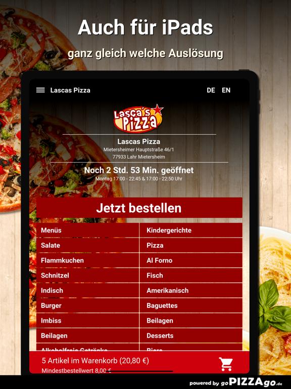 Lascas Pizza Lahr Mietersheim screenshot 8