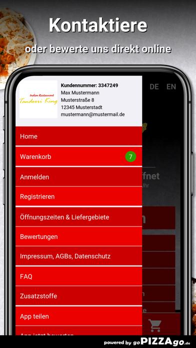 Tandoori-King Frankfurt screenshot 5