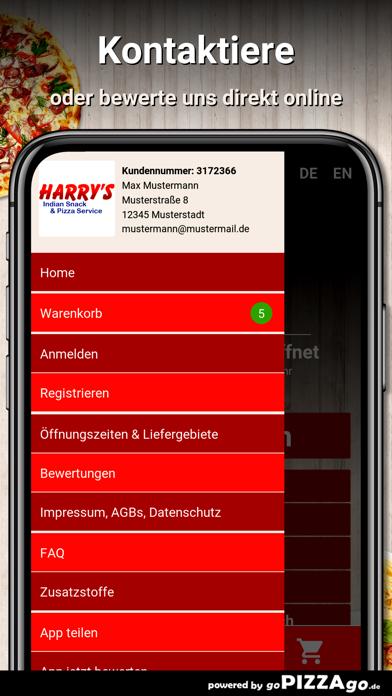 Harrys Pizza Beverungen screenshot 3