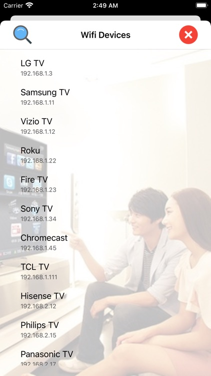 Universal Remote: TV Control screenshot-3